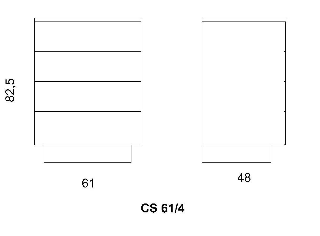 Cassettiera CS61/4